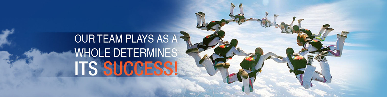 Our Team Plays As a Whole Determines Its Success!