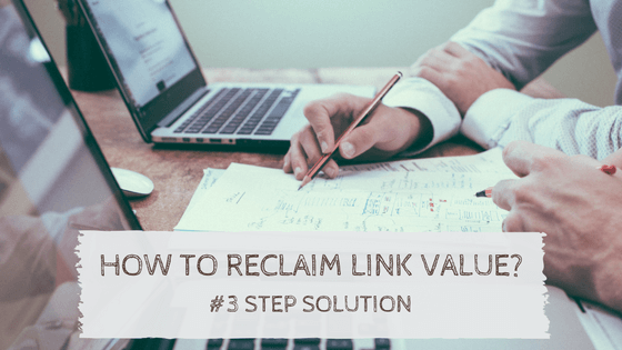 How to reclaim link value